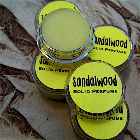 Sandalwood Solid Perfume by daisycakessoap on Etsy, 4.00
