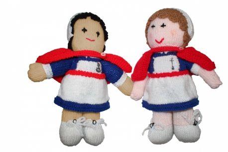 Free Knitting Pattern Nurse Doll : FREE KNITTING PATTERN NURSE DOLL - VERY SIMPLE FREE KNITTING PATTERNS