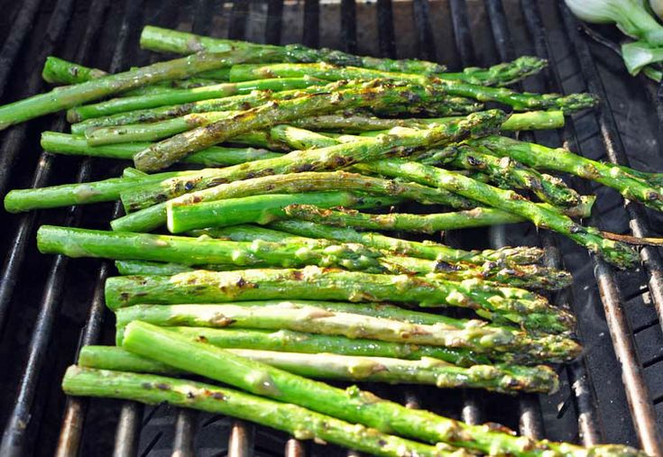 Grilled Asparagus | Fire Up The Grill! | Pinterest
