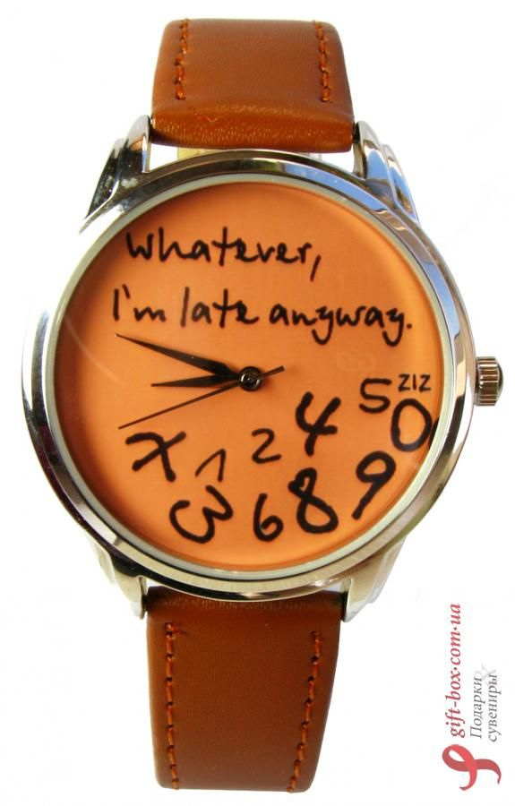 haha! anybody who knows me, knows I need this watch