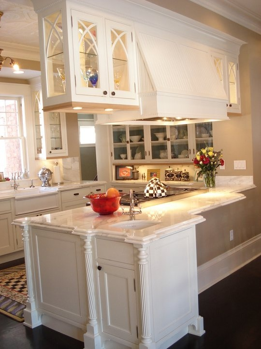 Light and airy kitchen  Dream Homes  Pinterest