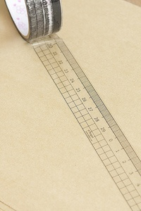 """Ruler transparent tape by """"made in paper"""""""