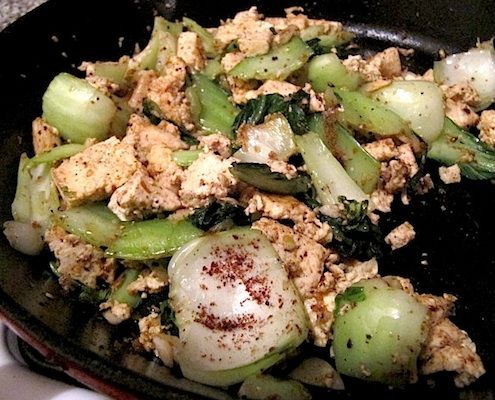 Stir-fried Saté Tofu & Bok Choy | Recipe