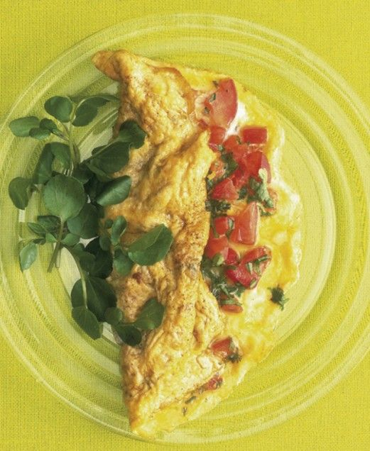 Tomato and Herb Omelette | Recipe