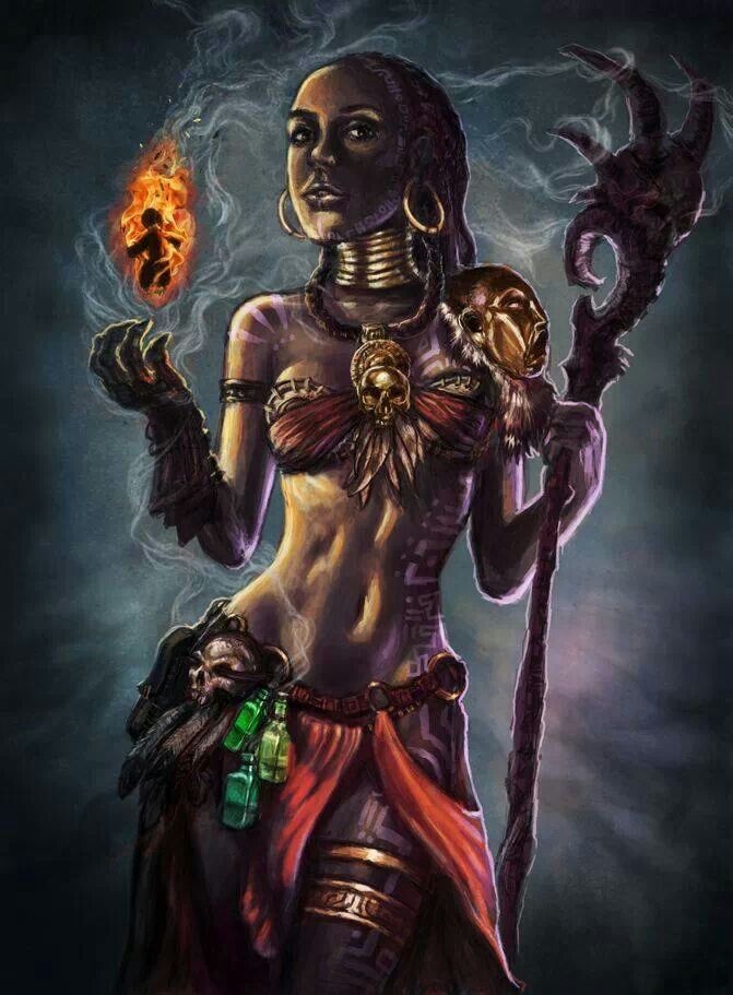 The Voodoo Priestess Awaits