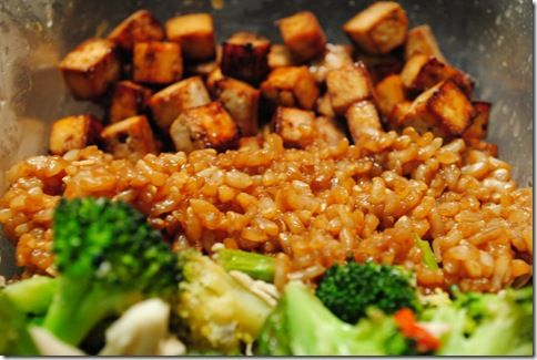 baked tofu w/ veggies - she has lots of great looking tofu recipes