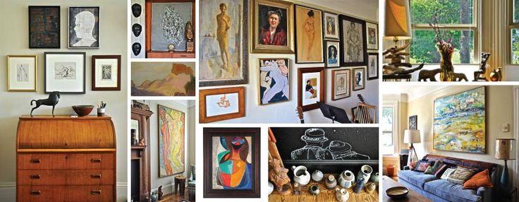 Lost Art Salon Vintage Art Modern Art Antique Art Paintings Ceramics Sculptures