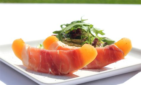 Melon Wrapped In Prosciutto Recipes — Dishmaps