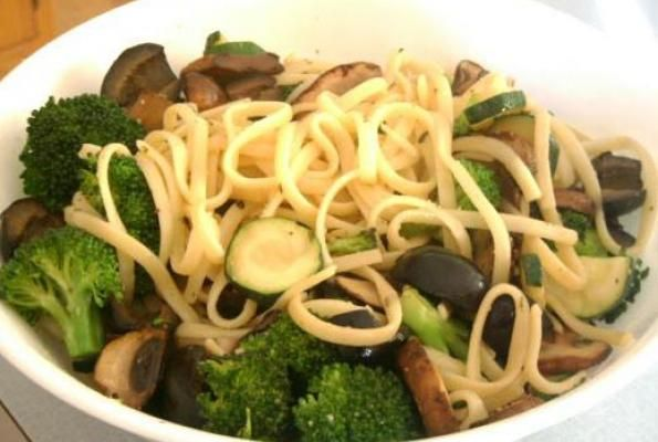 Flavorful Vegetable Linguine | Vegan and Veggie | Pinterest