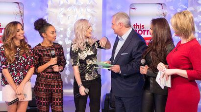 Little mix perform these four walls and talk about their love lives