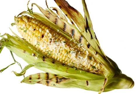 Grilled Corn With Lemon-Parsley Butter