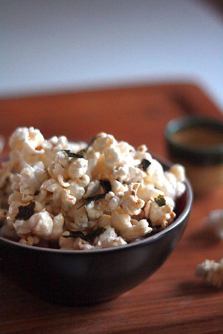 furikake_popcorn1 | Sweet treats | Pinterest