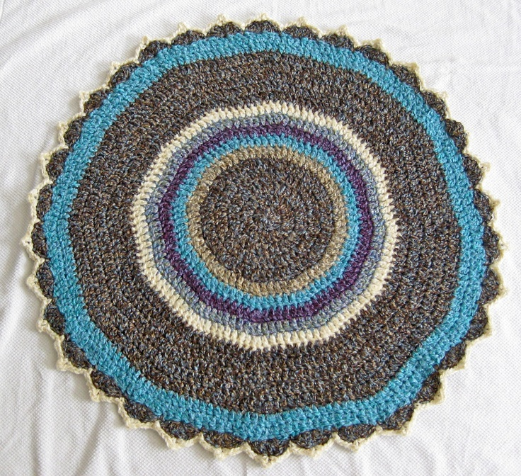 Crochet Yarn Over : Yarn Over Mo: Circles Baby Blanket
