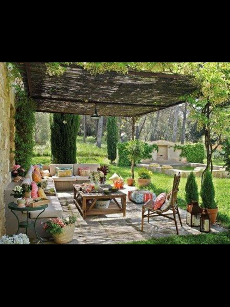 Triyae Tuscan Inspired Backyards Various Design