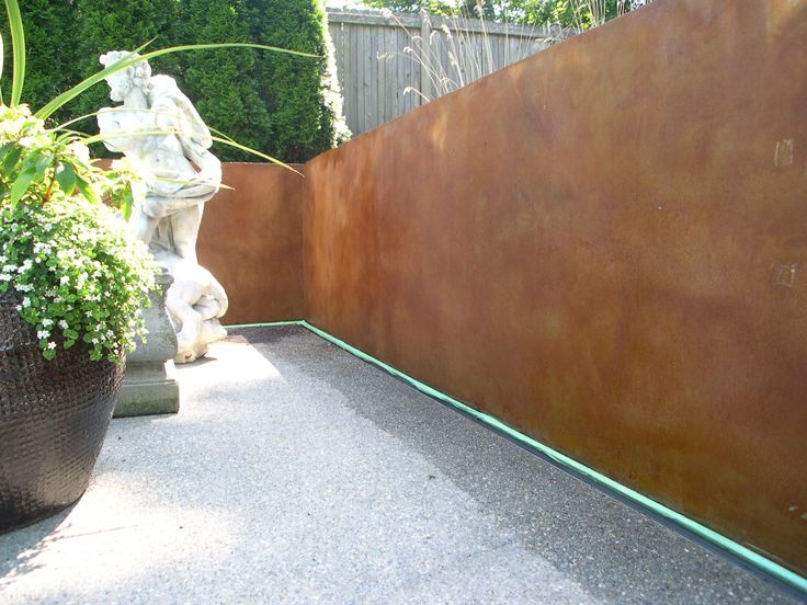 Concrete Walls Stain Design Pictures 116