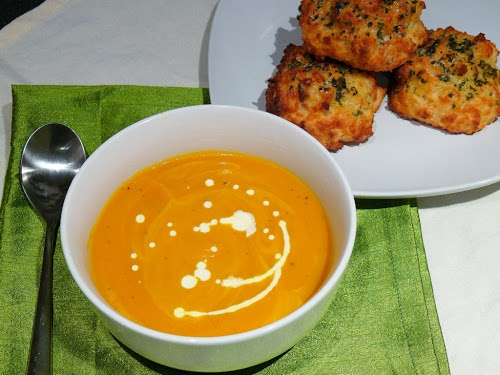 Carrot and Thyme Soup, from Mrs Ellwood's Simple Life