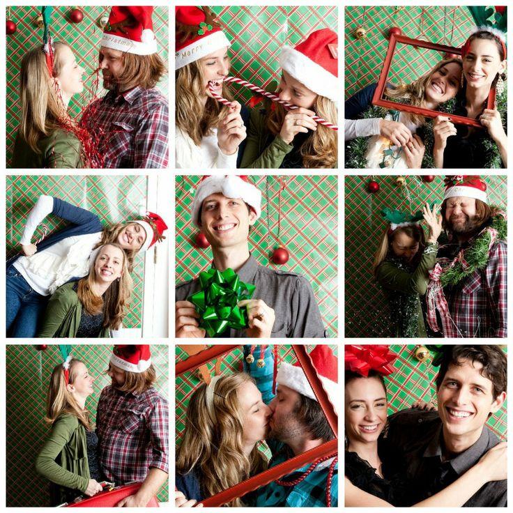 diy christmas photo booth christmas pinterest
