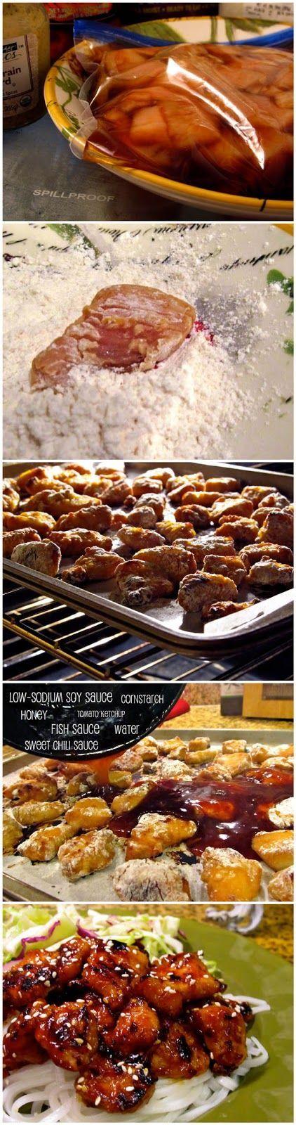 Honey Teriyaki Chicken. | Recipes ~ Main Dishes | Pinterest