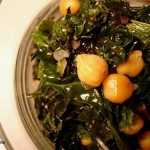 Braised Winter Greens With Chickpeas, Onions, And Garlic from ...