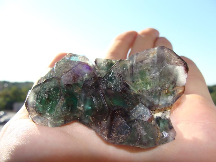 Erongo Enhydro Fluorite Cluster