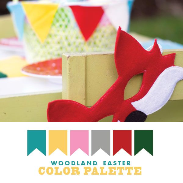Woodland easter color palette colors pinterest - What are the easter colors ...