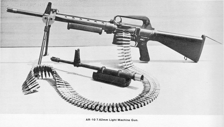 AR-10 belt-fed LMG Prototype