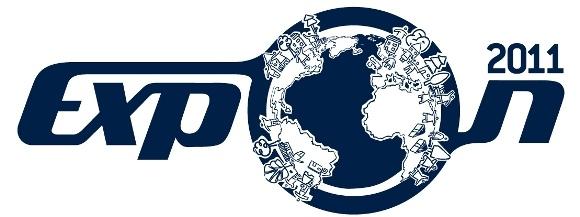 Logo oficial da Expon 2011, evento de marketing de busca e otimização de sites.