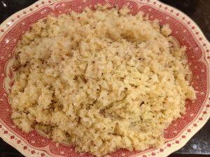 cauliflower couscous | YUMMY IDEAS FOR MY CRAZY BODY | Pinterest