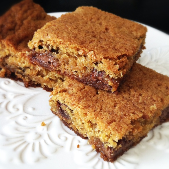 Rolo Blondies from OMG So Good | Chef | Pinterest