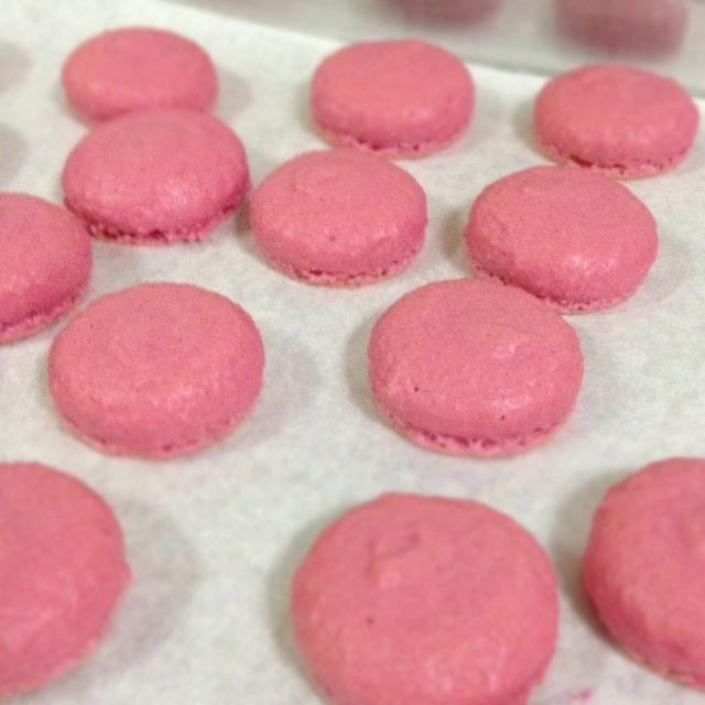 Strawberry Macarons | My Cakes | Pinterest