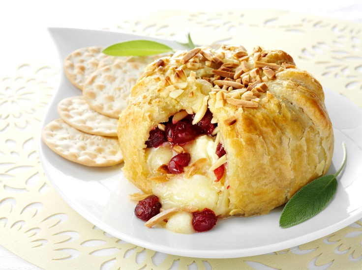 Cranberry-Ricotta Tarts in a Toasted Almond Crust | Recipe