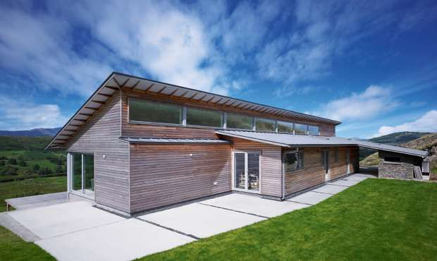 Pin by mark brown on molemans cottage redevelopment for Mono pitch house plans