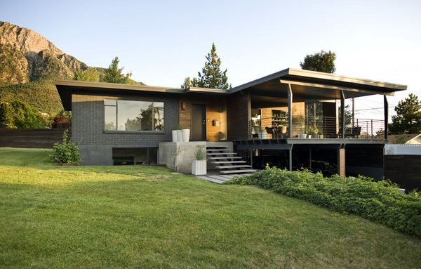Modern Classic House Exterior Design Mid Century Modern Homes Pin