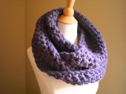 crochet scarf pattern bulky yarn - YouTube