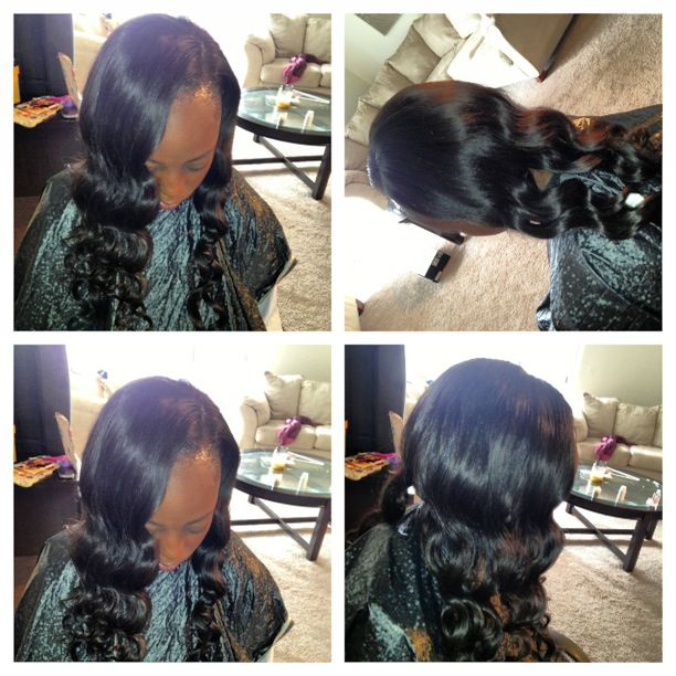 Full sew in orahairstyle ig