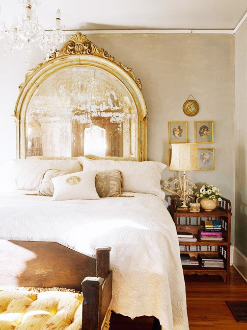 DIY Ideas mirror headboards bedroom  For the Home  Pinterest