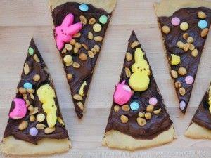 Easter Dessert Peep-Za - Holidays
