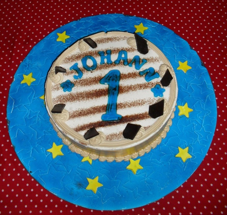 Birthday Cakes Images For Son : My son Johann s first birthday cake Birthday Pinterest