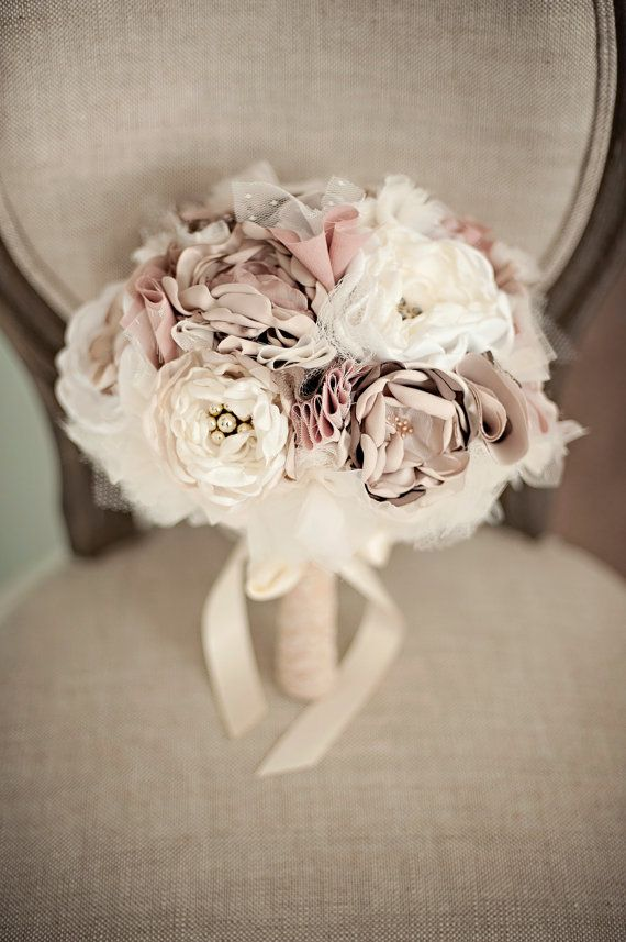 Fabric Bouquet MetallicBloom