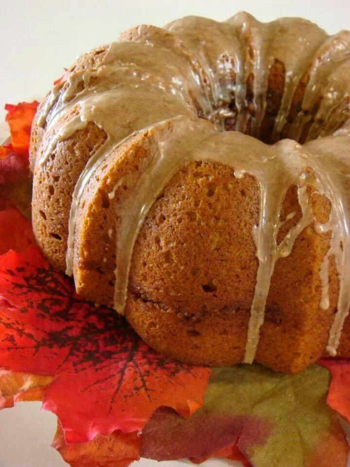 Pumpkin Bundt Cake | Recipes | Pinterest