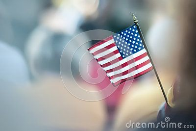 small hand held flags