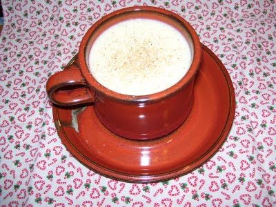 cooked custard eggnog
