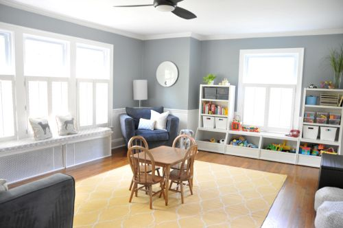 Dining room turned playroom decor kids pinterest - Dining room play ...