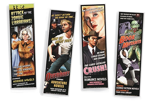 And there are cool companion bookmarks...