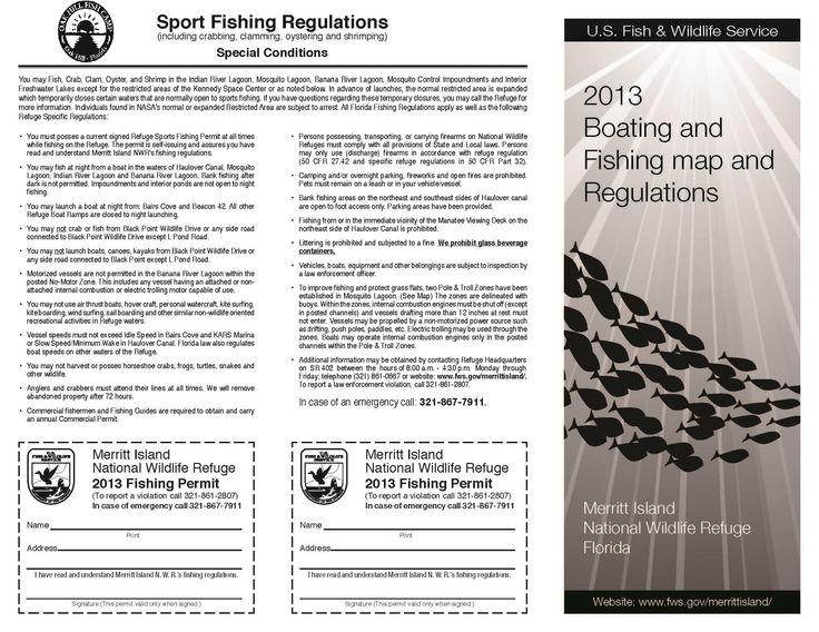 Merritt Island Fishing Permit
