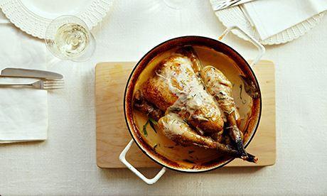 10 best Chicken with sherry, cream and tarragon
