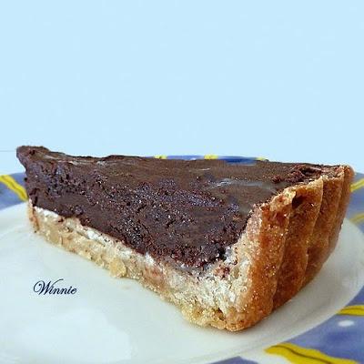 Chocolate Fudge Tart | Pies, Tarts & Cobblers | Pinterest