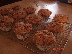 Rhubarb-Strawberry Streusel Muffins | Recipe