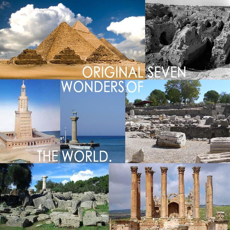 original 7 wonders of the world