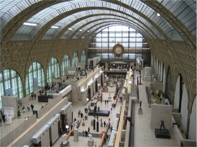 Quai d 39 orsay railway station pinterest for Quai d orsay metro